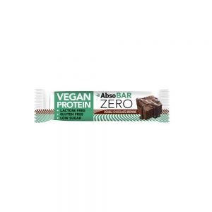 Protein bar AbsoBar Zero contains protein exclusively from plant sources. It is 100% vegan supplement of nutrition and is gluten and lactose free. It has rich dietary fibre content and only minimum of sugar. It is suitable as protein snack for the lovers of healthy lifestyle but also for sportsmen.