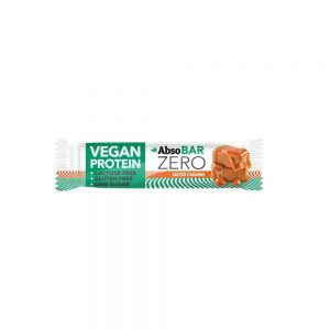 Protein bar AbsoBar Zero containsprotein exclusively from plant sources. It is100% vegan supplement of nutritionand is gluten and lactose free. It hasrich dietary fibre contentand only minimum of sugar. It is suitableas protein snackfor the lovers of healthy lifestyle but also for sportsmen.