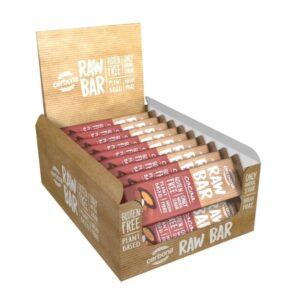 RAW батончики - вкусные закуски для сторонников здорового образа жизни! Батончики со вкусом кешью и миндаля. В комплекте 20 штук.