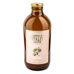 Passion Fruit Feel the passion! Experience the sweet spark of cold pressed organic passion fruit combined with green and black tea. Immunity boost! Exotic and sweet balanced taste makes you feel like you're spending a holiday in paradise!
